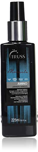 TRUSS Professional Amino Miracle - Heat Protectant Spray for Hair, Seals Cuticle, Repairs Dry Damaged Hair, Frizz Control, Detangles, Adds Shine, Color Protection, Anti-Aging (Best Heat Protectant For Blonde Hair)