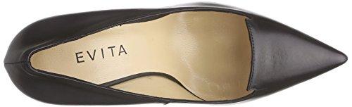Fermé Bout Schwarz Shoes Noir 10 Evita Pump Escarpins Femme qgSxZU