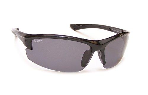 Coyote Eyewear Polar Lite Glacier Polarized Sport Sunglasses, Black, - Sunglasses Coyote