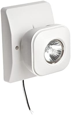 Morris Products 73068 Remote Emergency Light Head, 1 MR16, 5.4 Watts, 6 Volts