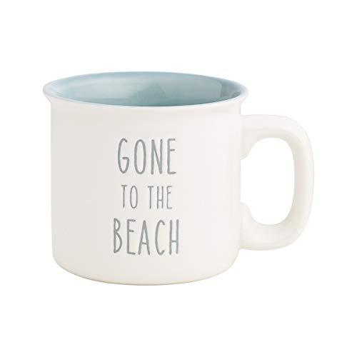 'Gone to the Beach' Novelty Porcelain Mug Holds 15 Ounces