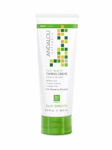 Andalou Naturals Exotic Marula Oil Silky Smooth, Taming Creme, 6.8 Fluid Ounce - Exotic Natural