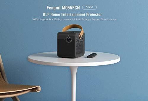5G WiFi 3D BT Proyector LED port/átil para Cine en casa Xiaomi Mini DLP Projector 1080P Full HD AI Control Remoto de Voz 500ANSI 4K Video 2GB 8GB 2.4G
