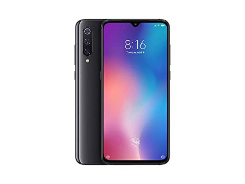 "Celular Xiaomi Mi 9 128GB/6GB 48MP+12.0 Snapdragon 855 NFC Wireless Fast Charge Tela 6,39"" Cor Black Piano"