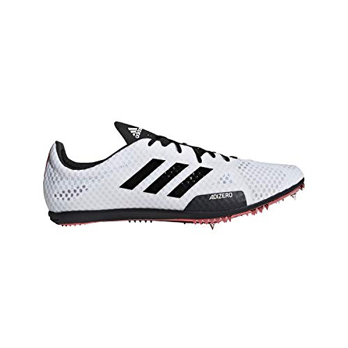 adidas Adizero Ambition 4 White/Black/Red Track Shoes 11