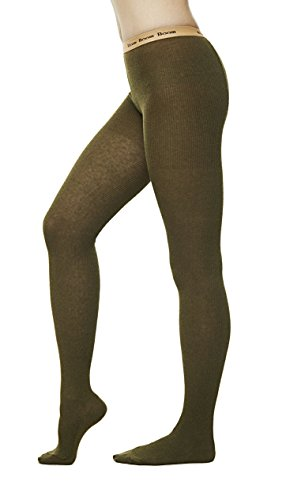 Winter Cotton Sweater Footed Tights