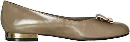Aerosoles Womens Buoni Tempi Slip-on In Pelle Taupe Loafer