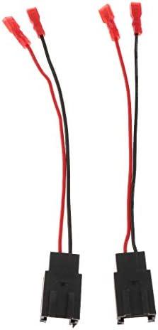 Almencla プジョーシトロエンC2 99-15用 スピーカー アダプター リードルーム コネクタ 2個/個