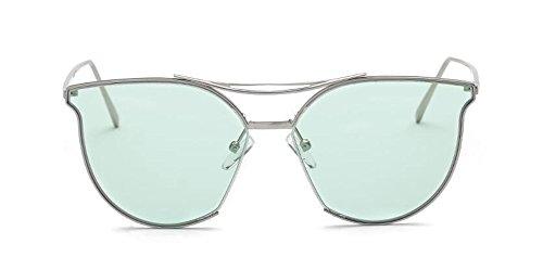 soleil Lennon Film style Vert rond inspirées du métallique de vintage retro polarisées en lunettes cercle OZqB8p5n