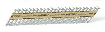 BOSTITCH PT-MC13115-1M 1 1/2-Inch x .131 Paper Tape Collated Metal Connector Nails, 1000-Qty. by BOSTITCH from BOSTITCH