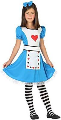 Atosa-56333 Disfraz Alicia, Color Celeste, 3 a 4 años (56333 ...