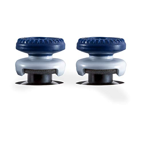 KontrolFreek Call of Duty: Warzone Performance Thumbsticks for Xbox One and Xbox Series X   2 High-Rise, Hybrid  Blue/Gray