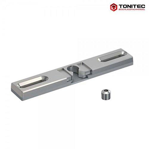 ToniTec® Terrassentür Balkontür Schnäpper Fensterschnäpper Balkontürschnäpper universal Hersteller unabhängig inkl.Hülse