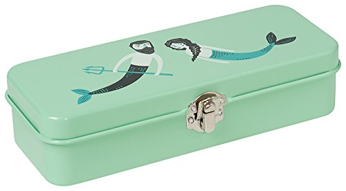 Danica Studio Pencil Tin Box, Sea - Personalized Tea Tins