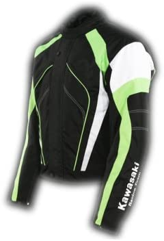 Kawasaki Sports lluvia chaqueta negro chaqueta nuevo