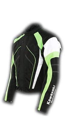 Kawasaki Racing Team Sports textil Chaqueta verde. Moto Chaqueta. NUEVO. Talla XL Negro Verde Blanco de bikerworld: Amazon.es: Coche y moto