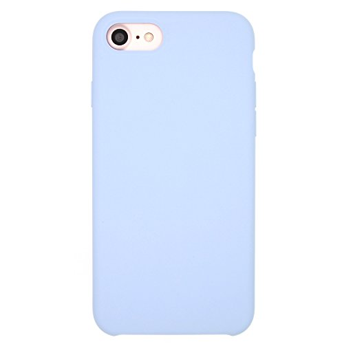 Iphone Blue Silicone Skin - iPhone 8/7 Silicone Case (4.7