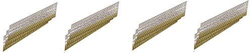Senco DA25EPB 15 Gauge by 2-1/2 inch Length Bright Basic Finish Nail (3,000 per box) (4-(Pack))
