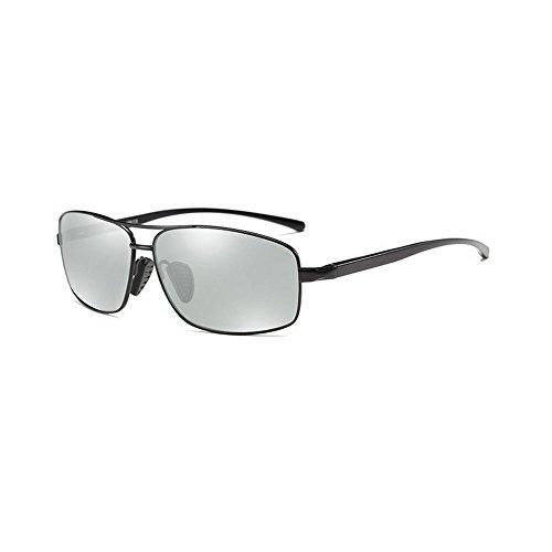 photochromic black MINCL hombre de Gafas sol para WawYxxg87q