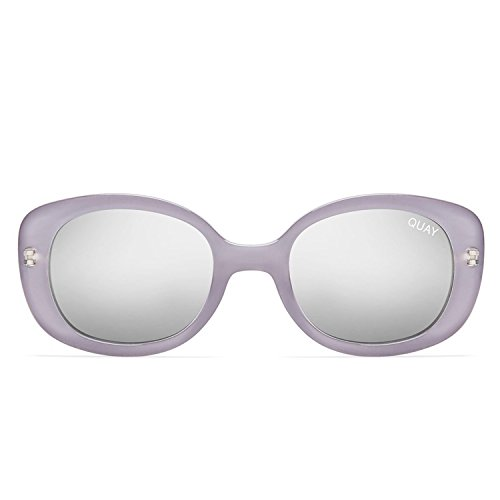 Quay Australia LULU Women's Sunglasses Thick Oval Mini Sunnies - - Sunglasses Lulus