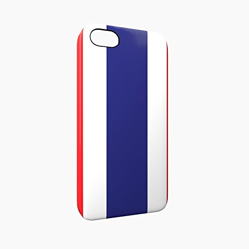 Flag of Thailand Glossy Hard Snap-On Protective iPhone 5 / 5S / SE Case Cover