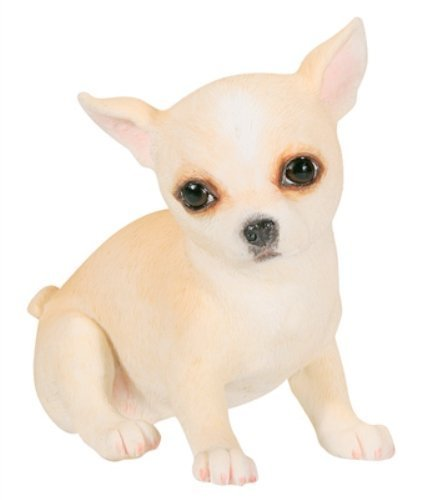Tan Chihuahua Figurine (Chihuahua Puppy / Dog (Tan) - Collectible Figurine Statue Sculpture)