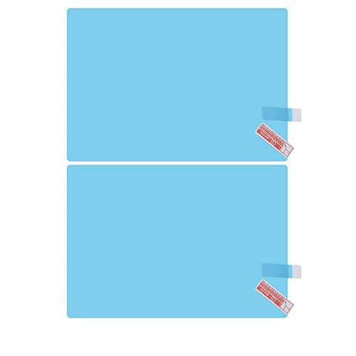 Pellicola per specchietto retrovisore auto Pellicola anti-riflesso anti-acqua per auto antipioggia Impermeabile Specchietto retrovisore per vetri trasparente Pellicola trasparente Kurphy