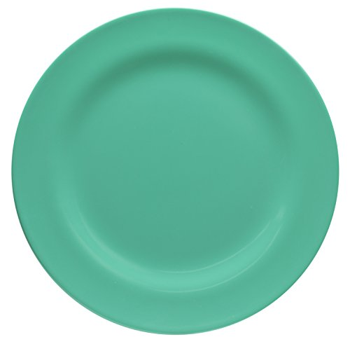 Zak Designs Ella 9-inch Plastic Salad Plate, Seaglass (Designs Pop Zak)