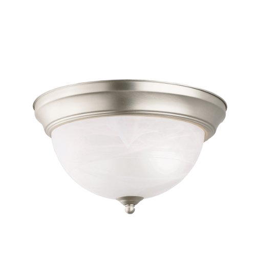 Flush Two Light (Kichler 8108NI Two Light Flush Mount)