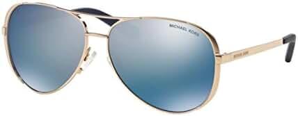 Michael Kors MK5004 Chelsea Sunglasses, Rose Gold