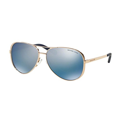 - Michael Kors MK5004 Chelsea Sunglasses, Rose Gold