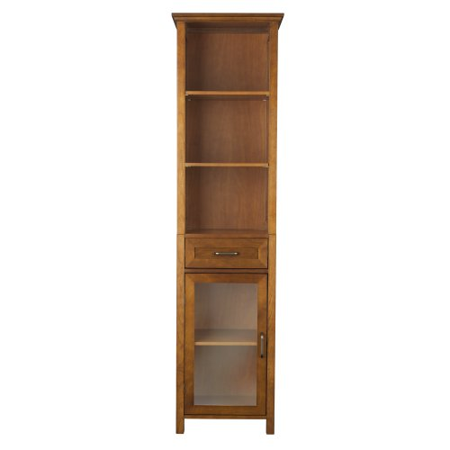 Elegant Home Fashion Anna Linen Cabinet with Drawer and ()