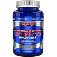 ALLMAX DIGESTIVE ENZYMES, With 11 High-Potency Enzymes, Dietary Supplement, 90 Gel Capsules