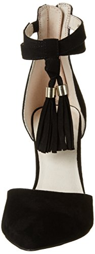 Bianco Tassel Sandal Jfm17 - Tacones Mujer negro