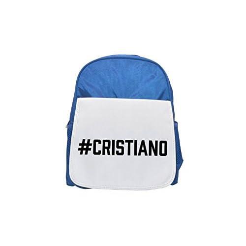 # Cristiano Printed Kid 's Blue Backpack, Cute de mochilas, Cute Small de mochilas, Cute Black Backpack, Cool Black Backpack, Fashion de mochilas, large Fashion de mochilas, Black Fashion Backpack