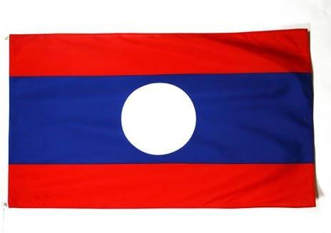 Bandera LAOSIANA 90 x 150 cm AZ FLAG Bandera de Laos 150x90cm