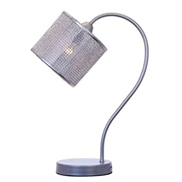 Tischlampe Lampe Design Nachttischleuchte Tischleuchte Chrom Leseleuchte Leuchte