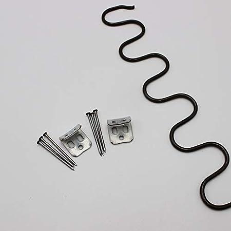 65cm 45cm 50cm 80cm Clips Printemps Vis Inclus Bricolage Zig Zag Canap/é inclinable Kit de r/éparation 70cm 60cm F-MINGNIAN-SPRING 1set 35cm 55cmm 40cm Taille : 70cm 1set 75cm