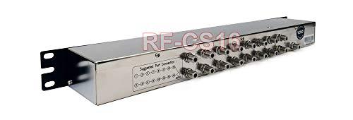 Premium 16-Channel RF CATV Combiner 1U Rackmount Ready