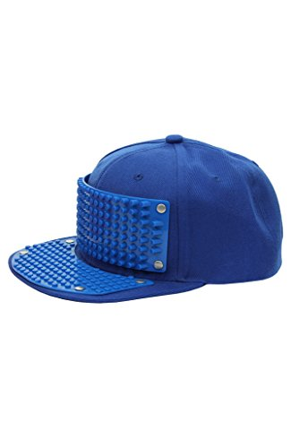 Bricky Blocks Blue Snapback Hat for Kids and Adults by elope