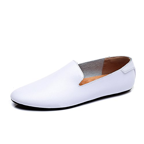 Herren Slipper Leder Herren Freizeitschuhe Slip on Fashion Herren Loafers  Mann Mokassins  Amazon.de  Schuhe   Handtaschen 66860519b3