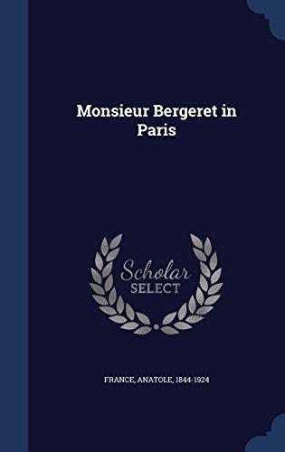 book cover of Monsieur Bergeret in Paris