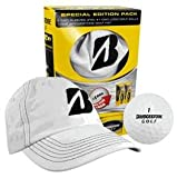 New Bridgestone Golf – xFixx Golf Balls with White Hat, Outdoor Stuffs