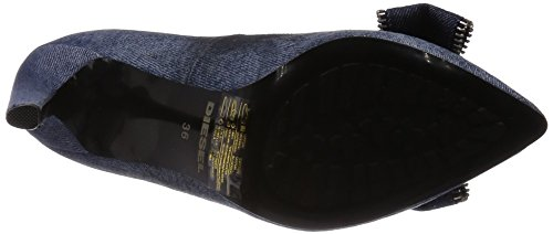 Diesel Women's Pumps Stilettos Day-Night D-Evita Indigo 7p6X8kr