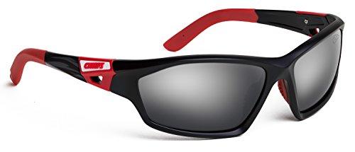 Officially Licensed NFL Sunglasses, Kansas City Chiefs, 3D Logo on Temple - 100% UVA, UVB & UVC - Sunglasses Beach City