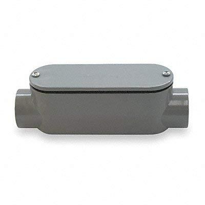 Cantex 5133107 Non-Metallic PVC Type-C Conduit Access Body, 3-Inch