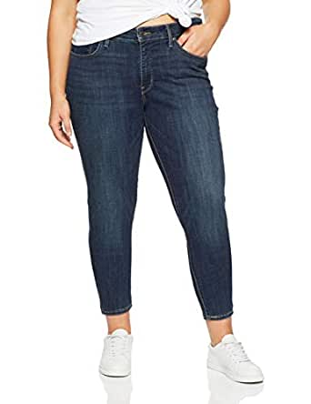 Levi's Women's 310 Plus Size Shaping Super Skinny, Indigo Canvas P, 18 M
