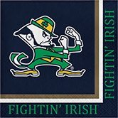 Pack of 240 NCAA Notre Dame Fightin' Irish 2-Ply Tailgating Party Lunch Napkins