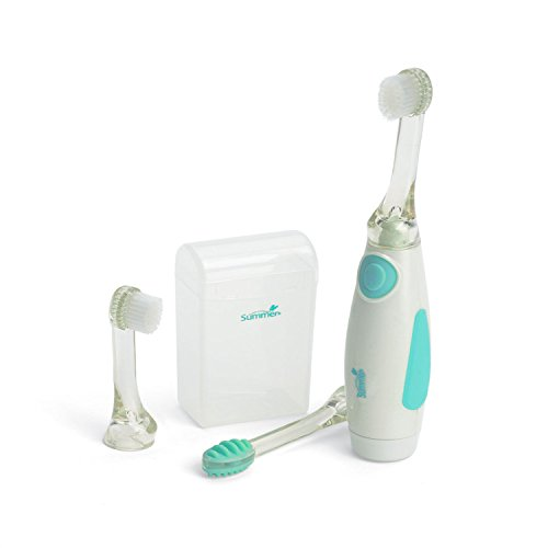 Stimulation Activities Sensory (Summer Infant Gentle Vibrations Toothbrush - Teal/White)