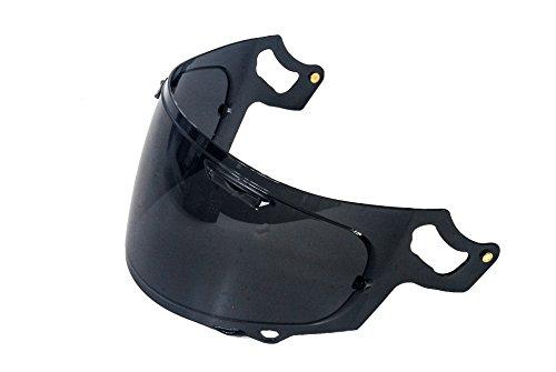 Smoke RX-7x Polycarbonate aftermarket helmet visor to fit Arai Shield Visor RX-7x, RX-7V, Corsair X only. Arai Rx 7 Corsair